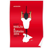 MY VUELTA MINIMAL POSTER - 2013 Poster