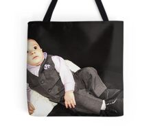 Ollie in his Tux 2 Tote Bag