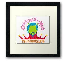 Christmas on Mars - The Flaming Lips Framed Print