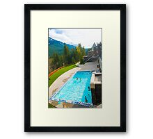 Banff Pool Framed Print