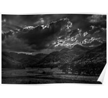 Clouds Over Langdale Poster