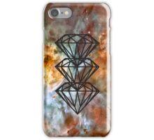 Black Diamond Nebula iPhone Case/Skin