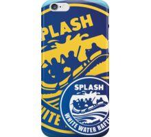 Splash White Water Rafting Logo Mix iPhone Case/Skin