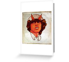 ACDC   Highway to Hell Greeting Card