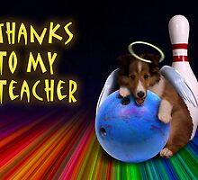 Thanks To My Teacher Sheltie Puppy by jkartlife