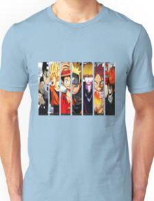 Manga Heroes Unisex T-Shirt