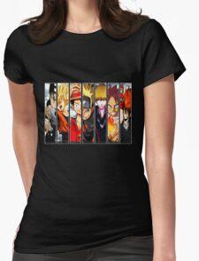 Manga Heroes Womens Fitted T-Shirt