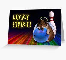 Lucky Strike Sheltie Puppy Greeting Card