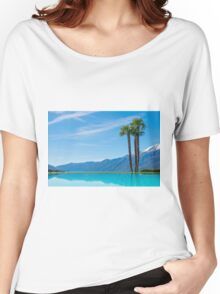 Swimming pool Women's Relaxed Fit T-Shirt