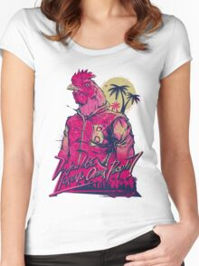 Hotline Miami - Richard Women's Fitted Scoop T-Shirt