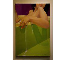 Woman Soaking In A Bathtub Photographic Print