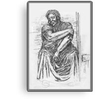 Rural Woman Canvas Print