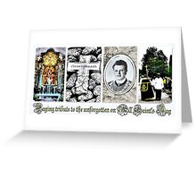 Paying tribute to the unforgotten ~ All Saint's Day Greeting Card