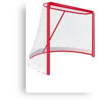 Hockey Net Canvas Print