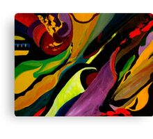 Manic Descent Canvas Print