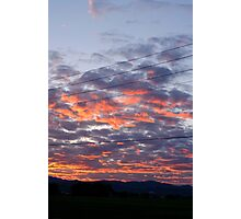Sunset at the Pawnee Grassland in Spring IV Photographic Print