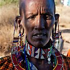 Masai Woman by phil decocco
