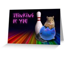 Thinking of You Squirrel Greeting Card