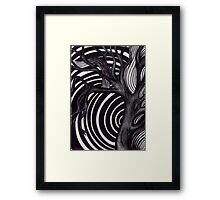 Trippy Tree Framed Print