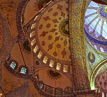 A Medley of Domes by Barbara  Brown