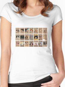 One Piece Post Wanted Women's Fitted Scoop T-Shirt