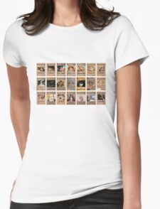 One Piece Post Wanted Womens Fitted T-Shirt