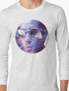 The passing cyclist  Long Sleeve T-Shirt