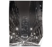 Chicago Board of Trade B W Poster