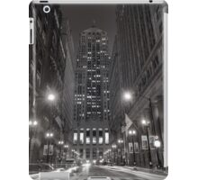Chicago Board of Trade B W iPad Case/Skin