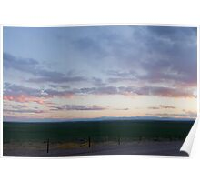 Sunset at the Pawnee Grassland in Spring XI Poster