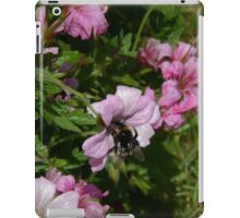 Pink Blossom And Bumble Bee iPad Case/Skin