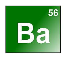 Ba56 - Barium element by Atomic5