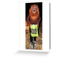 Scooter Boo Greeting Card
