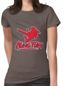 Kung Fury T-Shirt Womens Fitted T-Shirt