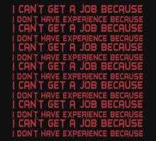 I can't get a job because I don't have experience because by SlubberBub