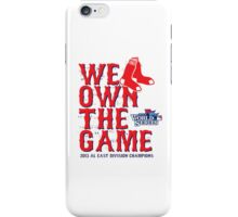 We Own The Game iPhone Case/Skin
