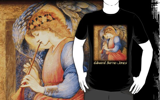 Burne-Jones - An Angel Playing a Flageolet by William Martin