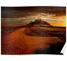 St Michaels Mount Poster
