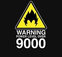 WARNING: Power Level Over 9000 Unisex T-Shirt