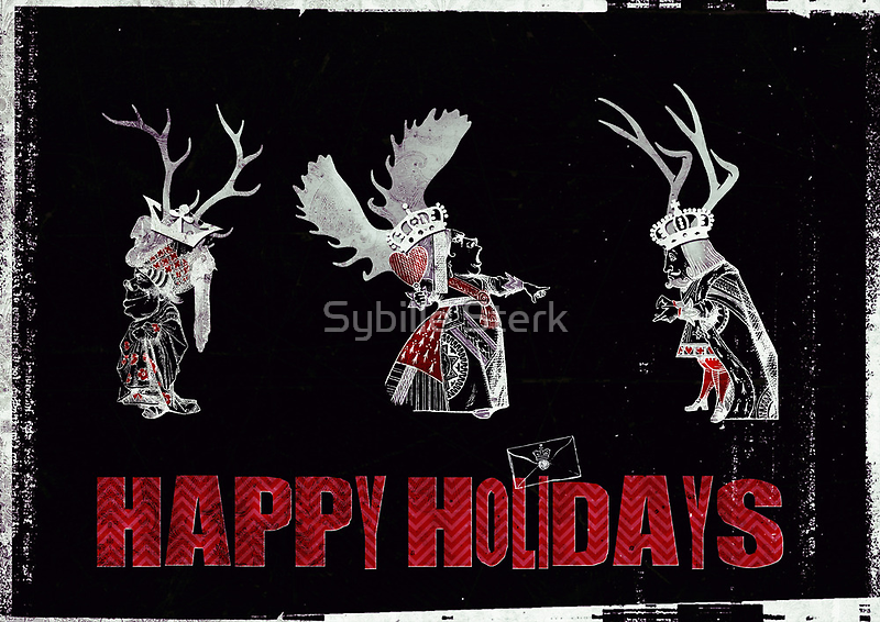 Happy Holidays by Sybille Sterk