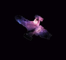 Serenity - Galaxy Ship by keldamg
