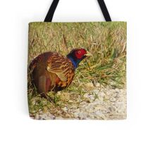 The Ring-necked Pheasant Tote Bag