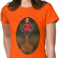 █ ♥ █ GENIE ~MAPLE LEAF ~ROYAL CANADIAN MOUNTED POLICE TEE SHIRT █ ♥ █  Womens Fitted T-Shirt