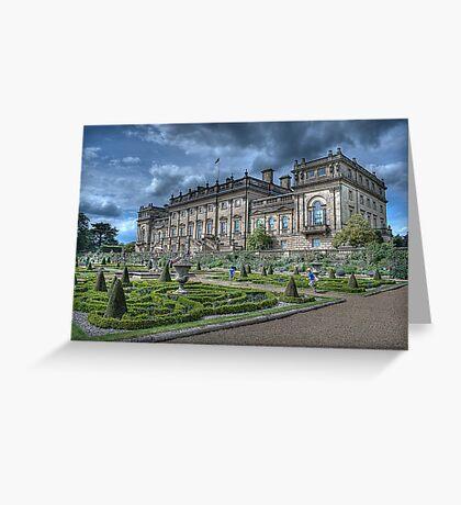 Harewood House #1 Greeting Card