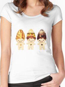 Junk Food Trolls Women's Fitted Scoop T-Shirt