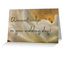 Candlelight rose - wedding card Greeting Card