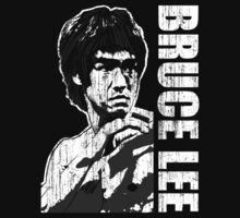 Bruce Lee - Martial arts - Enter The Dragon - Jeet Kune Do (Distressed) by James Ferguson - Darkinc1