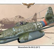 Messerschmitt Me 262 by A. Hermann