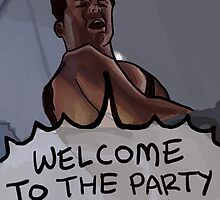 Welcome to the Party Pal! by Chiascure