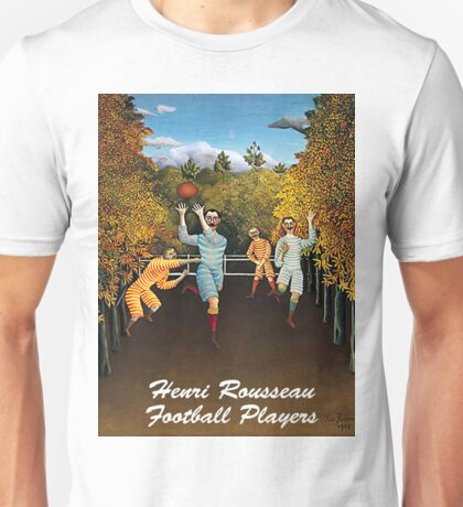 Henri Rousseau - Football Players Unisex T-Shirt